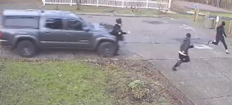 Video: Truck Jumps the Curb, Mows Down Teens on the Sidewalk in Portland