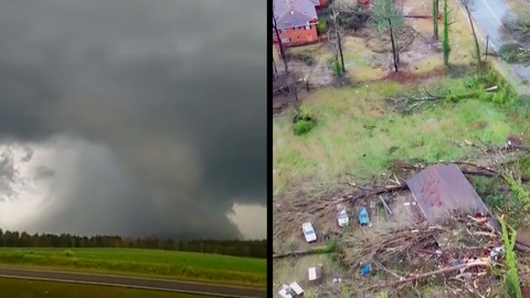 Tornado Kills 23 in Alabama as Severe Storm Ravages Southeast