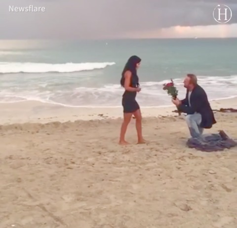 See How This Guy Uses a Beachside Photoshoot to Give His Girl the Ultimate Surprise Proposal