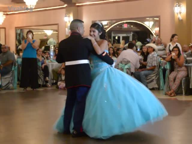 Video: This Father-Daughter Duo Totally Nails the Whole Wedding Dance Thing