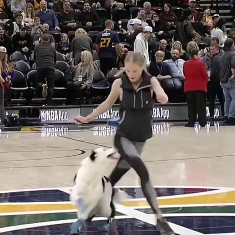 Video: Girl and Border Collie Show Fancy Moves, Leaving Audience in Awe