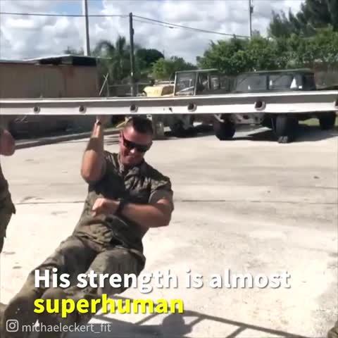 Video: Super-Fit Marine Posts Video of His Insane Exercises, Leaving the Internet in Awe